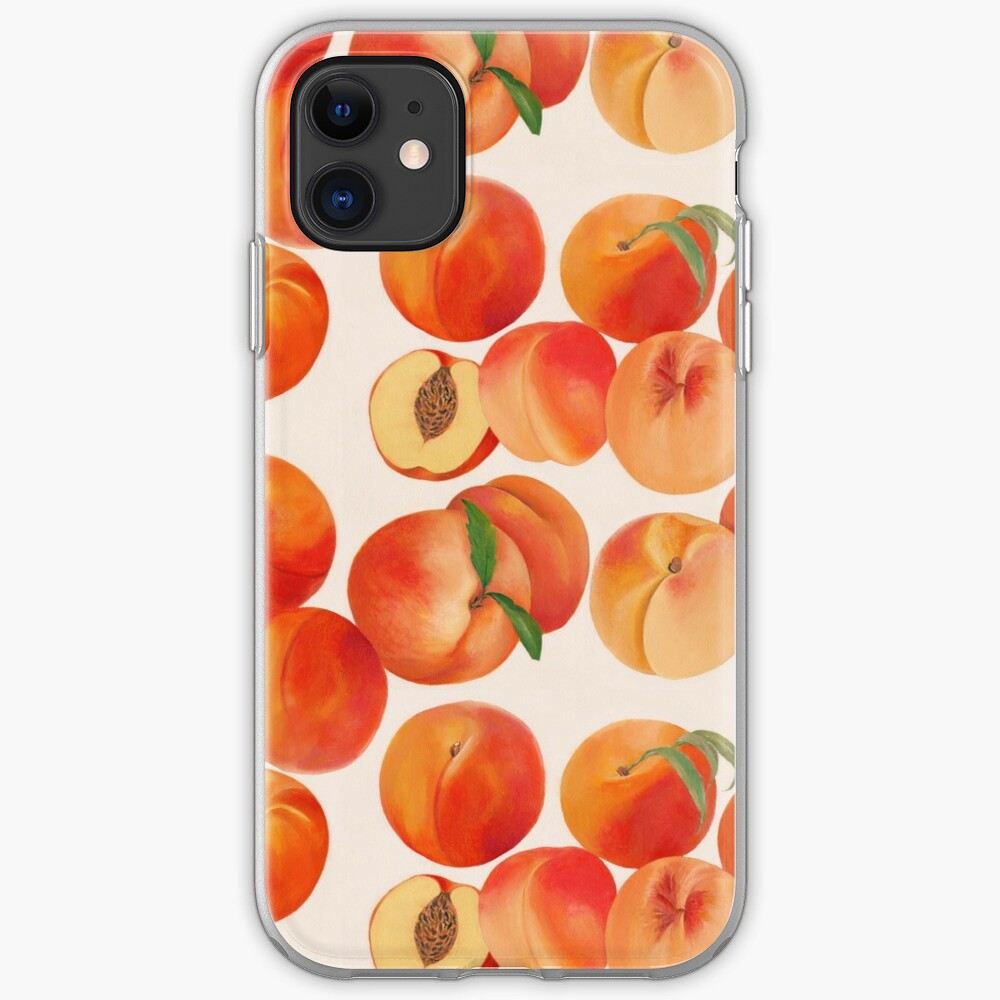 Peaches, Nectarines, Tropical Fruit iPhone Case & Cover