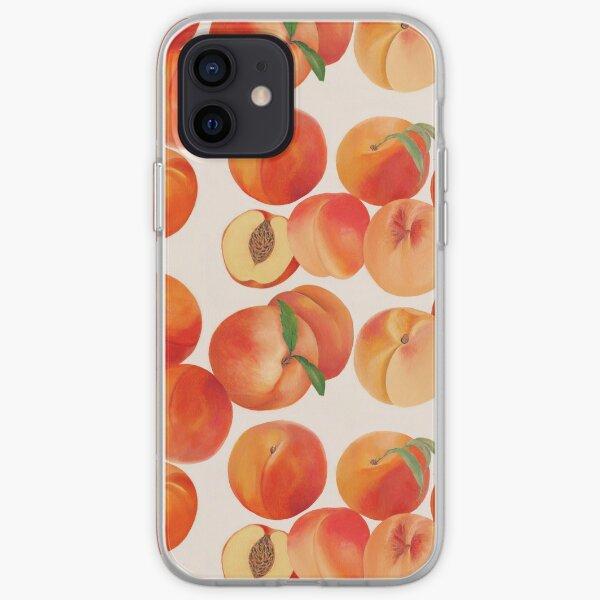 Peaches, Nectarines, Tropical Fruit iPhone Soft Case