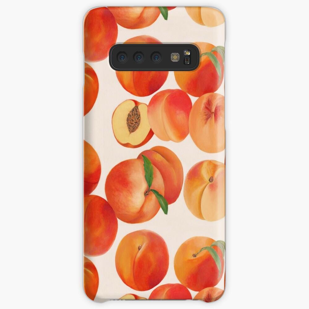Peaches, Nectarines, Tropical Fruit Case & Skin for Samsung Galaxy