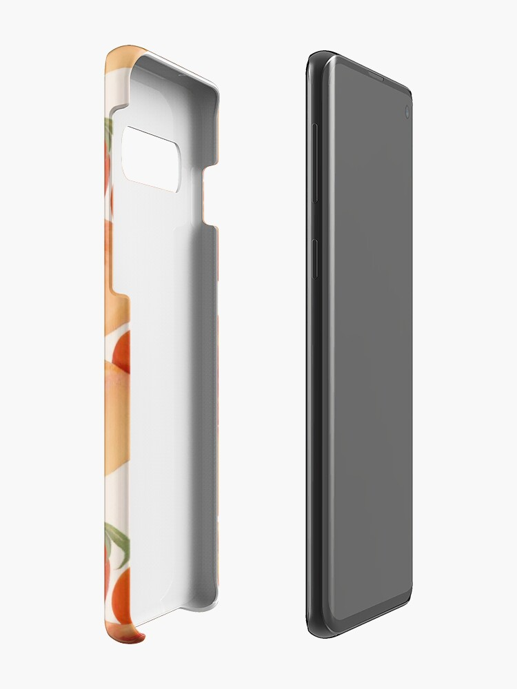 Alternate view of Peaches, Nectarines, Tropical Fruit Case & Skin for Samsung Galaxy