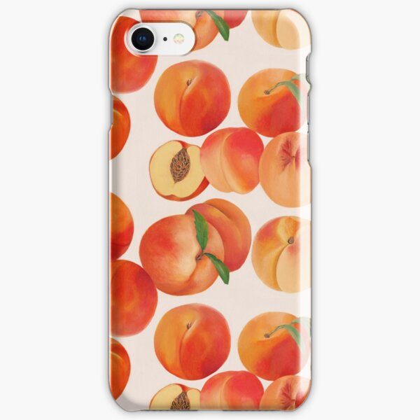 Peaches, Nectarines, Tropical Fruit iPhone Snap Case
