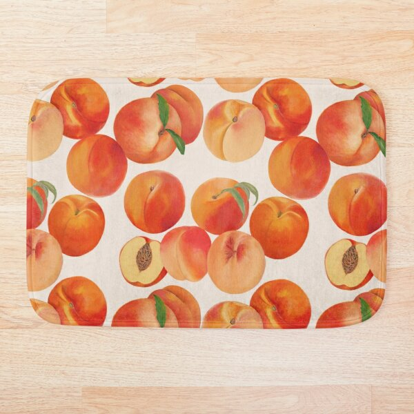 Peaches, Nectarines, Tropical Fruit Bath Mat