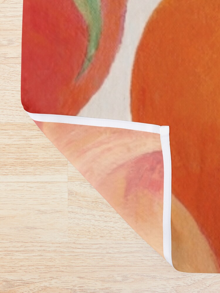 Alternate view of Peaches, Nectarines, Tropical Fruit Shower Curtain