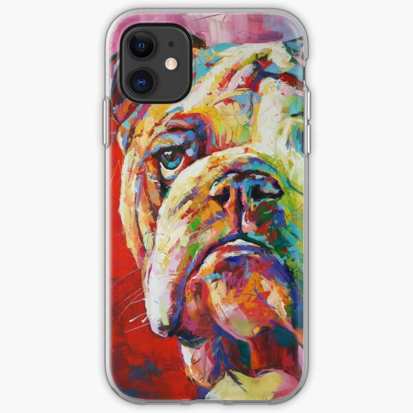 English Bulldog iPhone Soft Case
