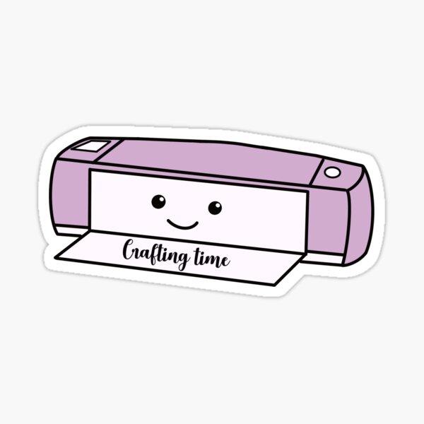 Cricut Machine Crafting Time Sticker