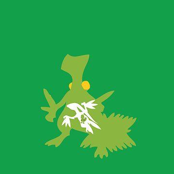 Treecko Inception by soraroks