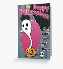 Halloween Greeting Cards [Ghosts] Greeting Card