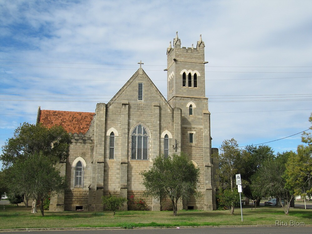 St. Pauls Anglican Church, Roma, Central. Que. by Rita Blom