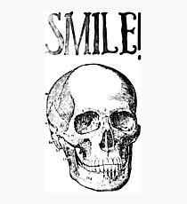 Smile! Smiling skull Photographic Print