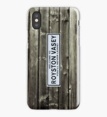 Royston Vasey sign iPhone Case/Skin