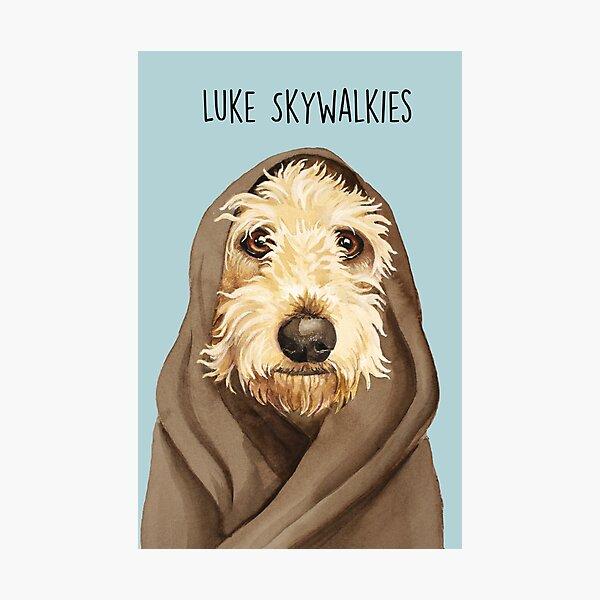 Luke Skywalkies Photographic Print