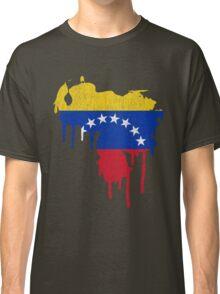 Venezuela Paint Drip Classic T-Shirt