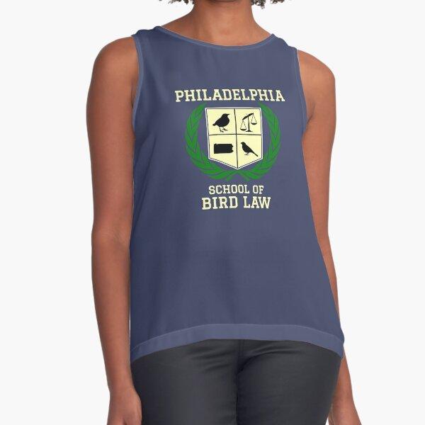 Philadelphia School of Bird Law (dark color shirts) Sleeveless Top