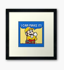 I Can Make It! Framed Print