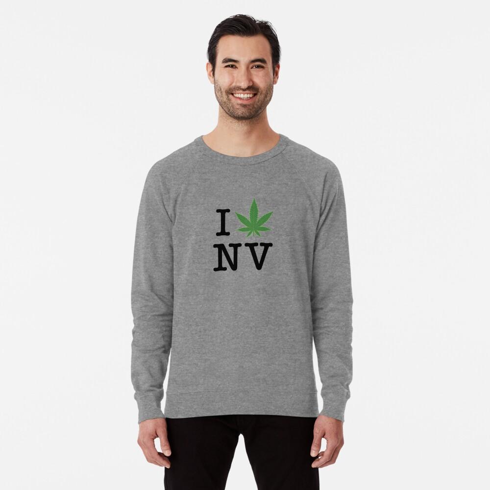 I [weed] Nevada Lightweight Sweatshirt