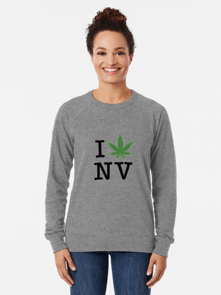 Alternate view of I [weed] Nevada Lightweight Sweatshirt
