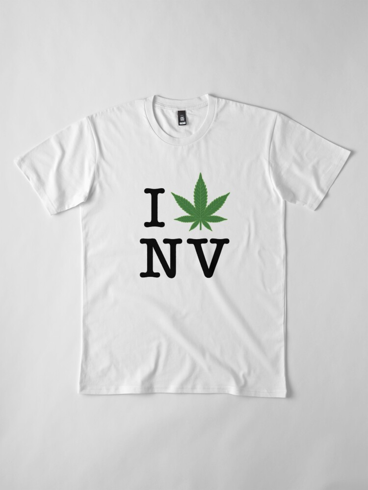 Alternate view of I [weed] Nevada Premium T-Shirt