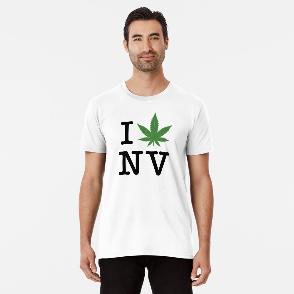 I [weed] Nevada Premium T-Shirt
