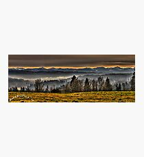 Lord's Hill and Cascades Photographic Print