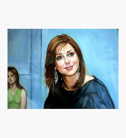 Portrait of Katia Guerreiro Photographic Print