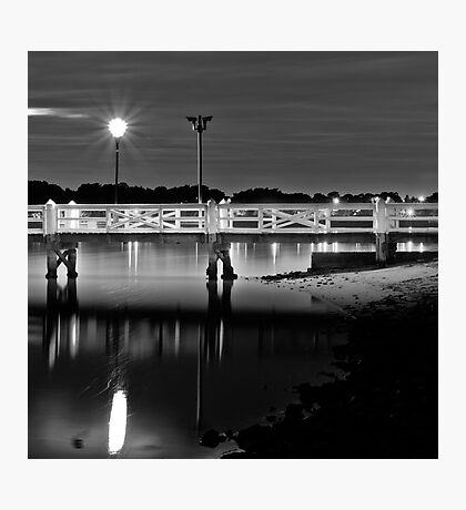 The Picketed Jetty Photographic Print