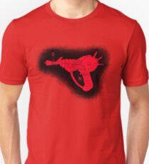 Sketchy red Ray gun T-Shirt