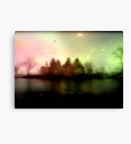 Magic falls upon the night... © Canvas Print
