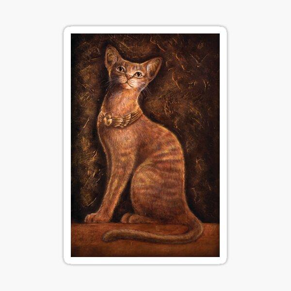 Cat Goddess Bast - by Nadya Neklioudova Sticker