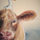 Roundabout Cow by Sarah  Mac Illustration