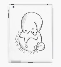 Getting smaller - Save the arctic! iPad Case/Skin