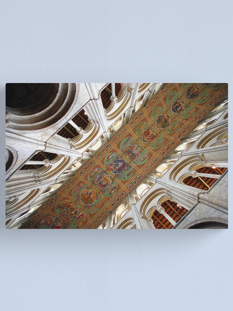 Alternate view of Ely Cathedral Ceiling Canvas Print