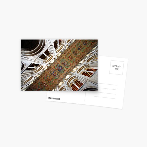 Ely Cathedral Ceiling Postcard