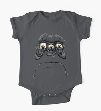 sad face Kids Clothes