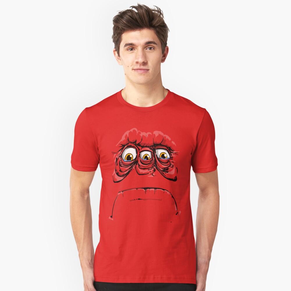 sad face Unisex T-Shirt