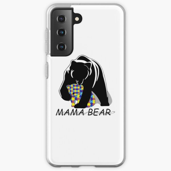 Autism Awareness Mama Bear Samsung Galaxy Soft Case