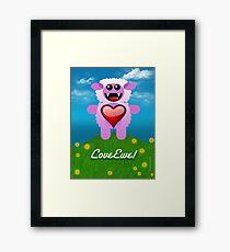 LOVE EWE! Framed Print