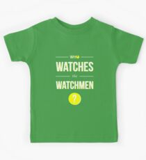 Who Watches the Watchmen? Kids Tee