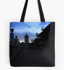 Dusk at Taoist Temple Tote Bag