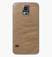 BROWN PAPER Case/Skin for Samsung Galaxy