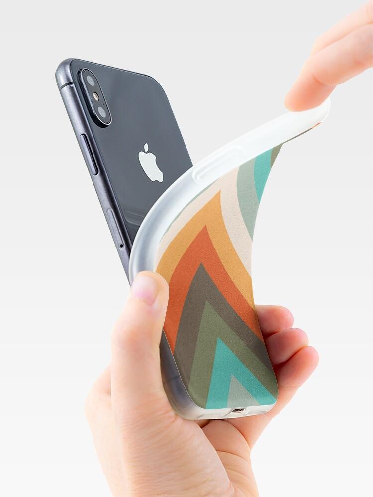 Alternative Ansicht von Pfeile Chevrons   Vintage Sommer Farben iPhone-Hülle & Cover