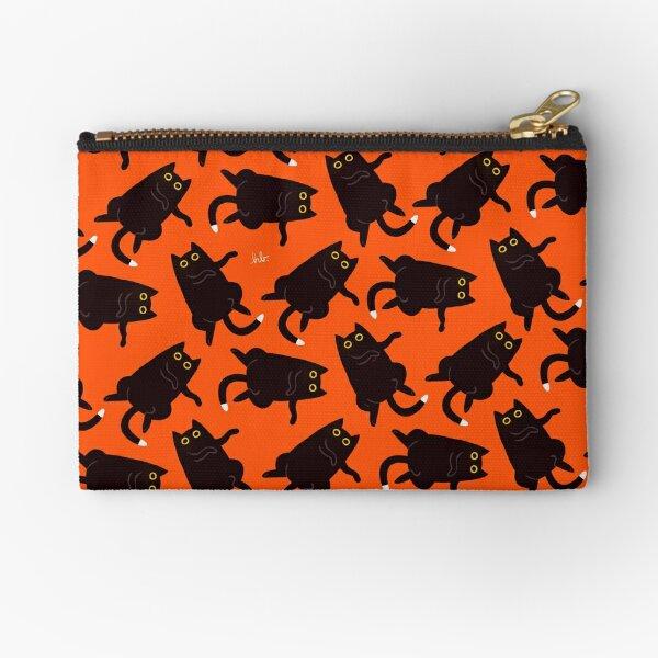 Black Cat Dance! Zipper Pouch