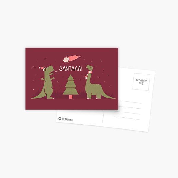 Merry Extinction Postcard
