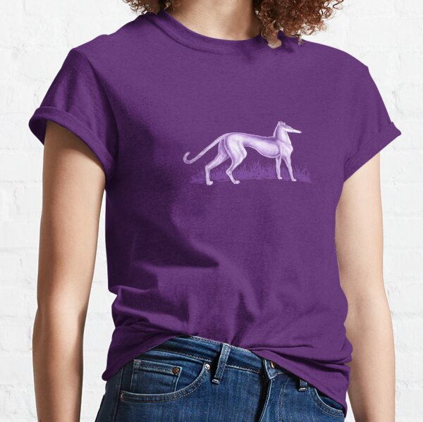 Purple Whippet Classic T-Shirt