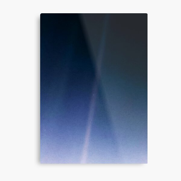 Pale Blue Dot — Voyager 1 ⛔ 2020 revision Metal Print