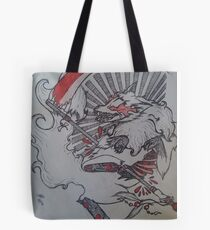 Demon Fox  Tote Bag
