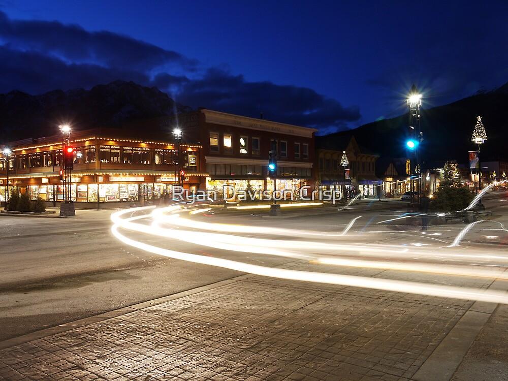 Corner Light Trails by Ryan Davison Crisp