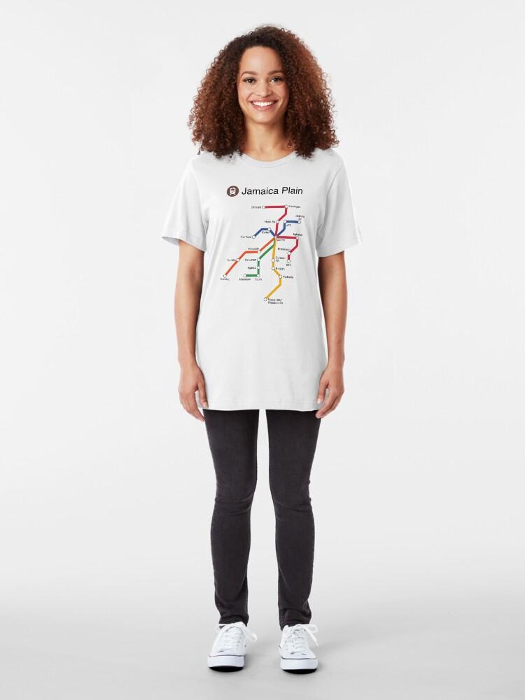 Alternate view of Jamaica Plain Slim Fit T-Shirt