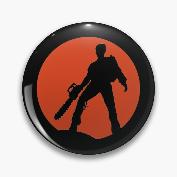 Ash vs The Evil Dead (Red) Pin