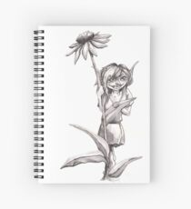 Garden Pixie Spiral Notebook