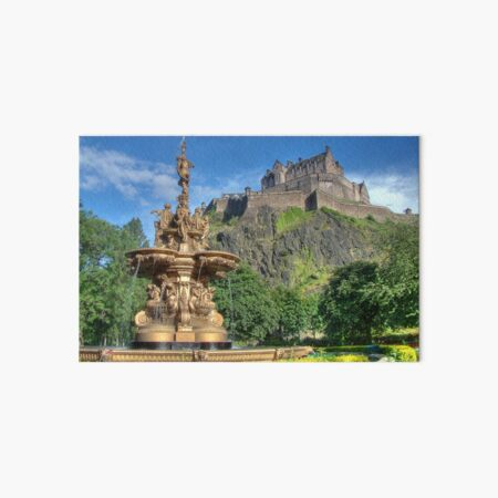 Edinburgh Castle , Scotland Art Board Print